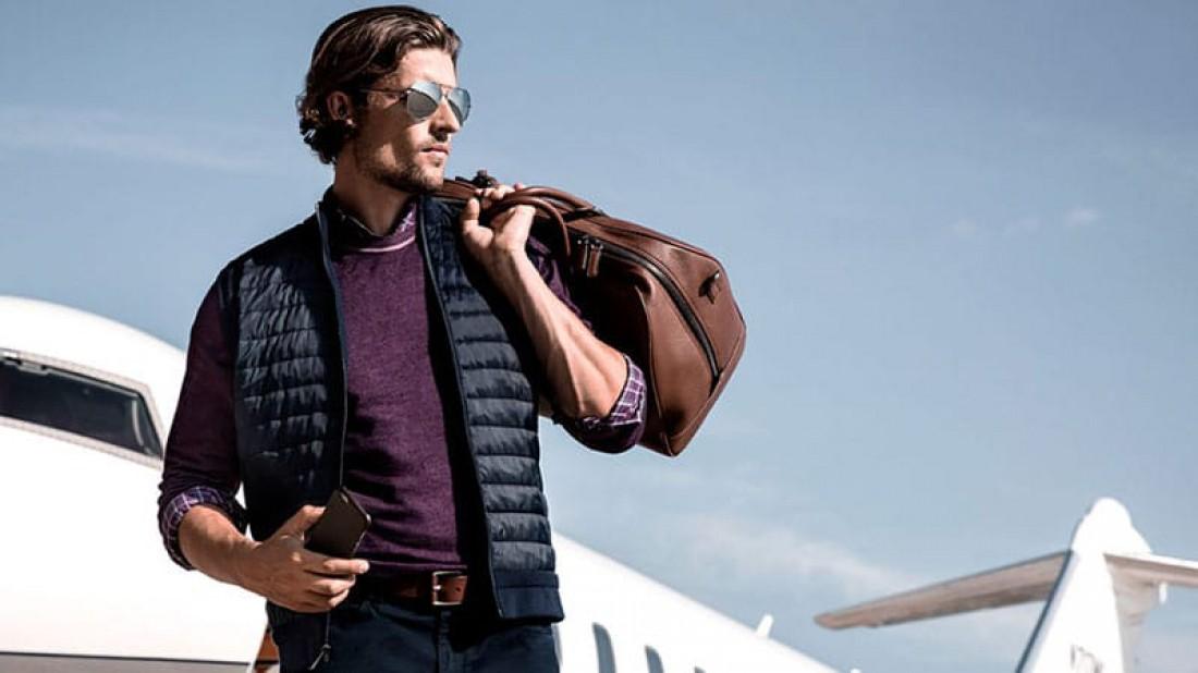 Выбирай кожаные сумки — материал подчеркивает имидж и статус
