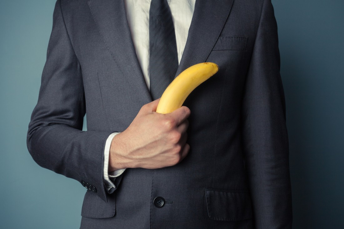 Ешь бананы — так пенис будет не только кривой, а еще и крепкий