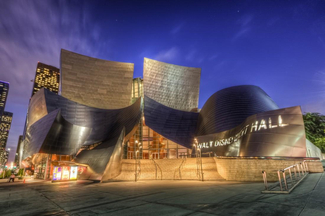 Disney Concert Hall (концертный зал имени Уолта Диснея)