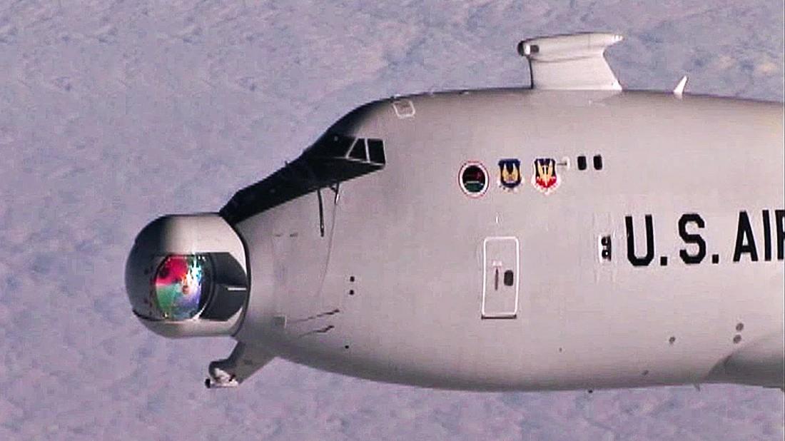 Boeing YAL-1 и его лазер