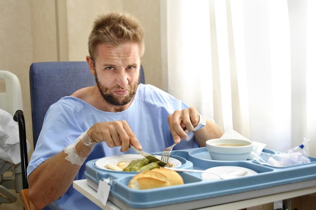 Еда в больницах — не всегда вкусно. Зато иногда очень полезно