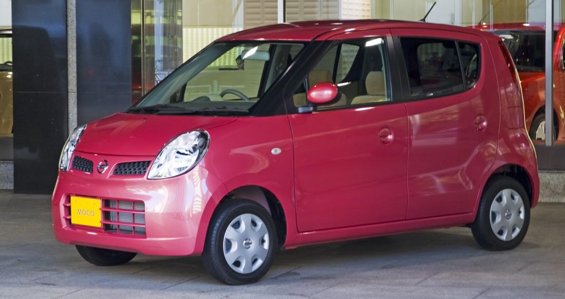 Nissan Moco. Что напоминает дизайн кузова автомобиля?