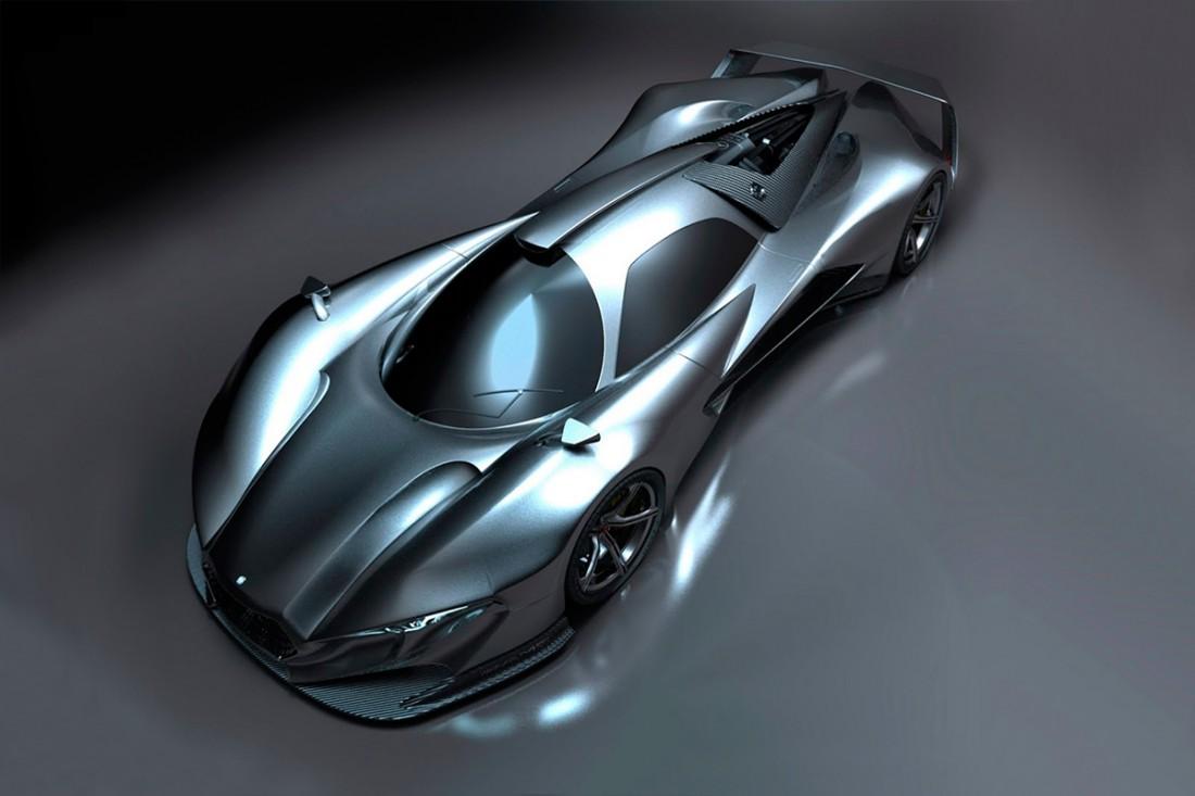Mercedes-AMG R50 под завязку планируют нафаршировать карбоновыми деталями