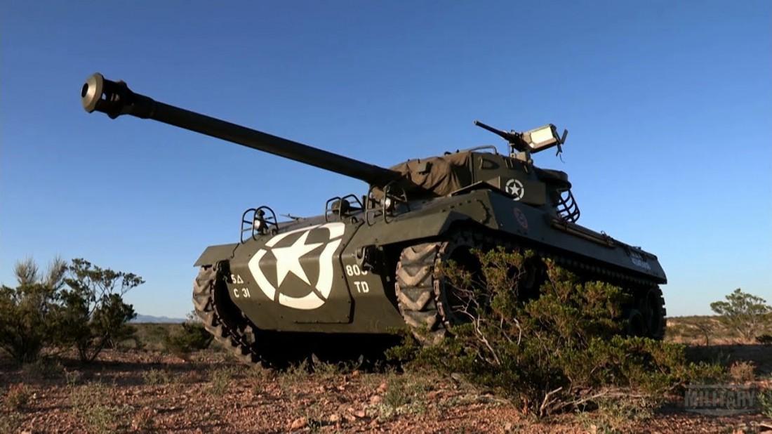 M18 Hellcat — 76-мм самоходная артиллерийская установка, созданная одной из автомобильных компаний