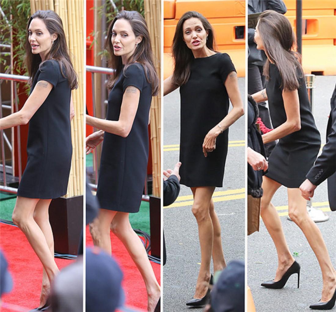 41-летняя Анджелина Джоли. Без комментариев