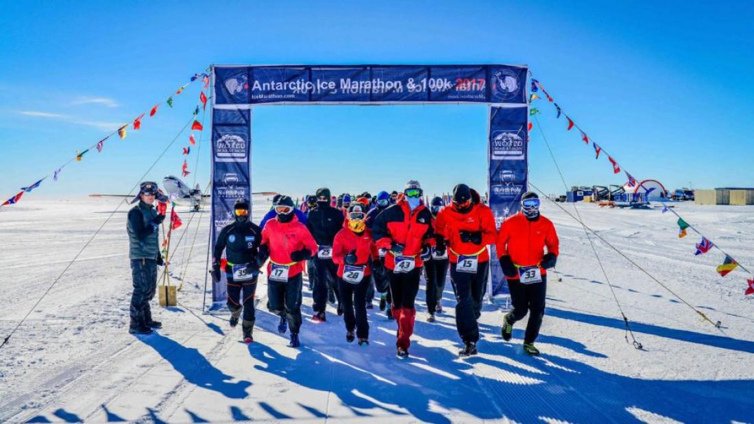 Antarctic Ice Marathon — 100 км леденящего ада, которые нужно пробежать