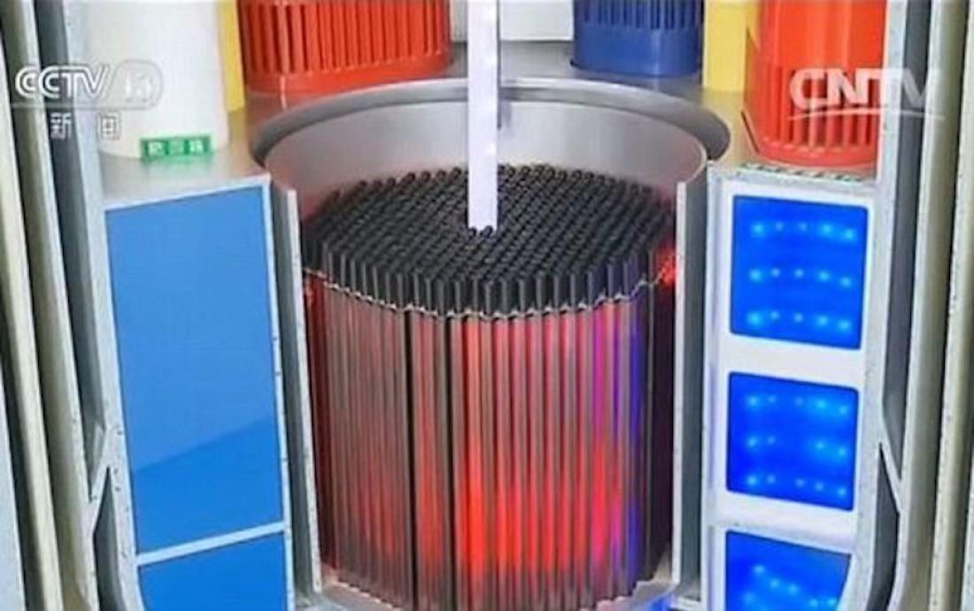 Cамый портативный на данный момент ядерный реактор