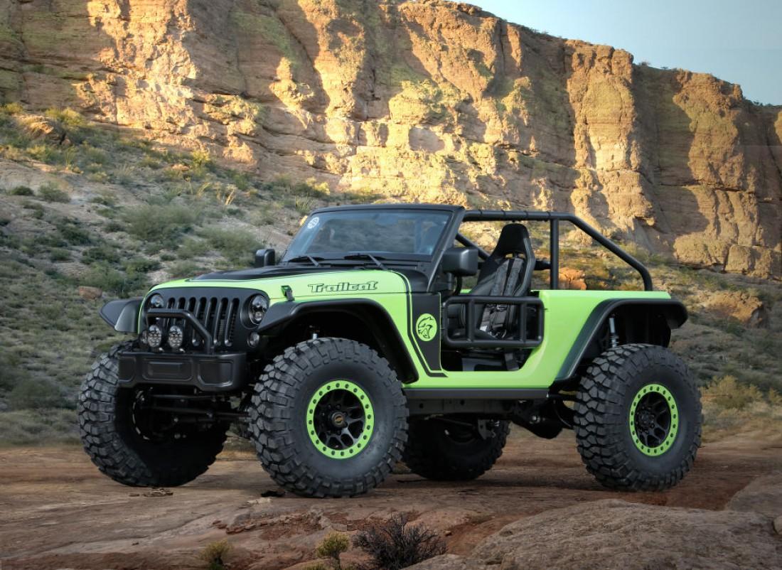 707-сильный Jeep Trailcat