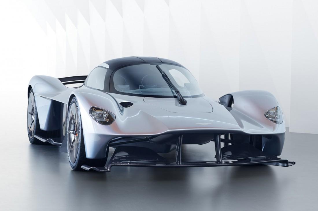 Aston Martin Valkyrie — совместная разработка Aston Martin и Red Bull