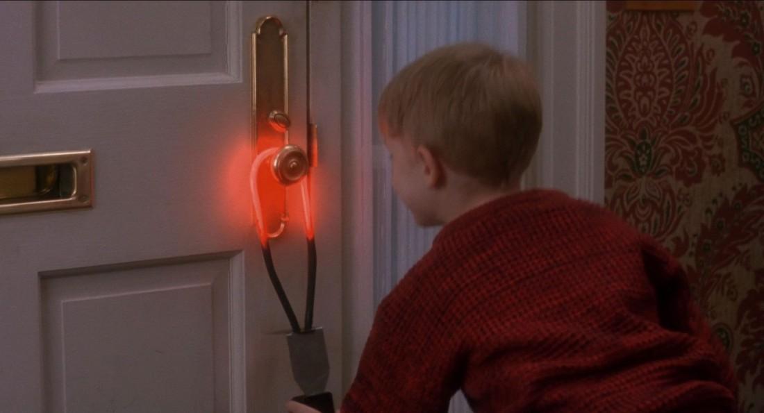 Скорее загорится дверь, чем нагреется ручка с обратной стороны