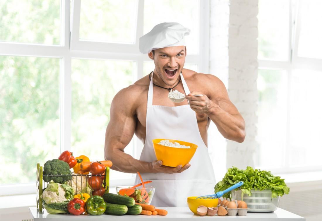 Каким бы спортом не занимался, всегда ешь овощи и творожок