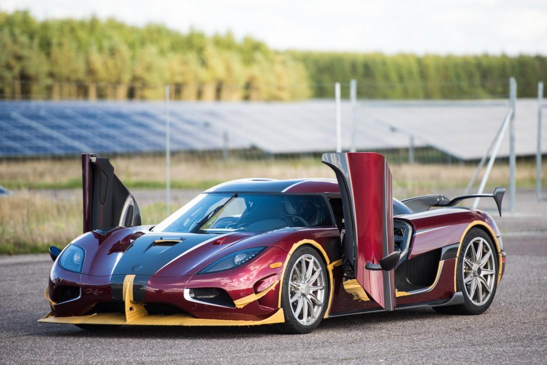 Koenigsegg Agera RS. Тот самый, порвавший Bugatti Chiron