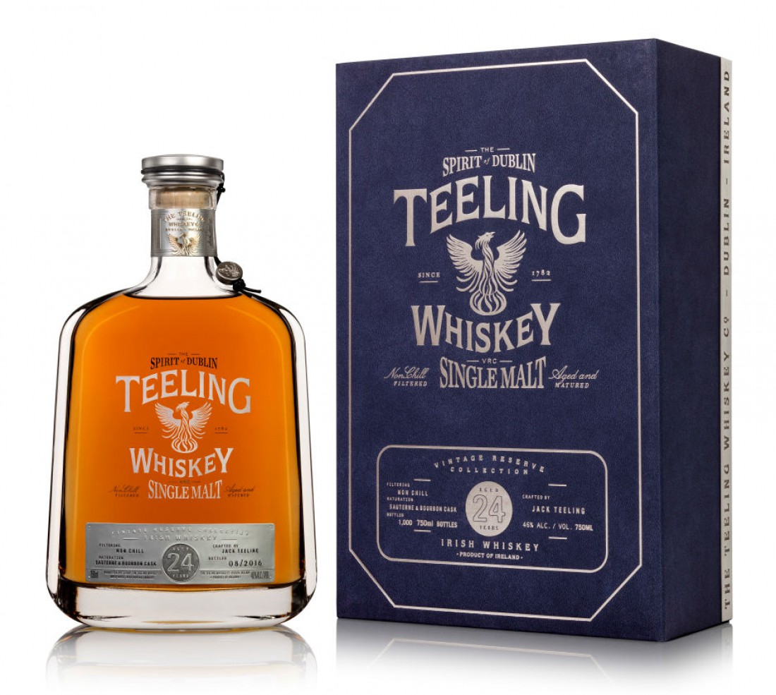 Teeling Whiskey 24 Year Old — $499