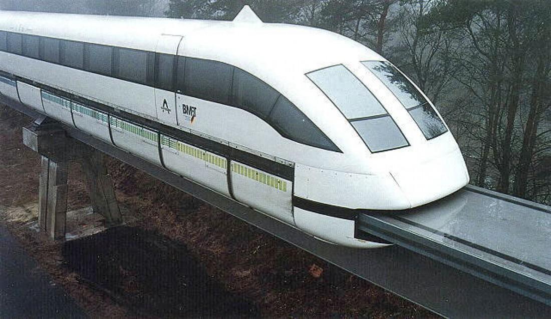 Немецкий Transrapid 07. Проект свернули — из-за отсутствия финансирования