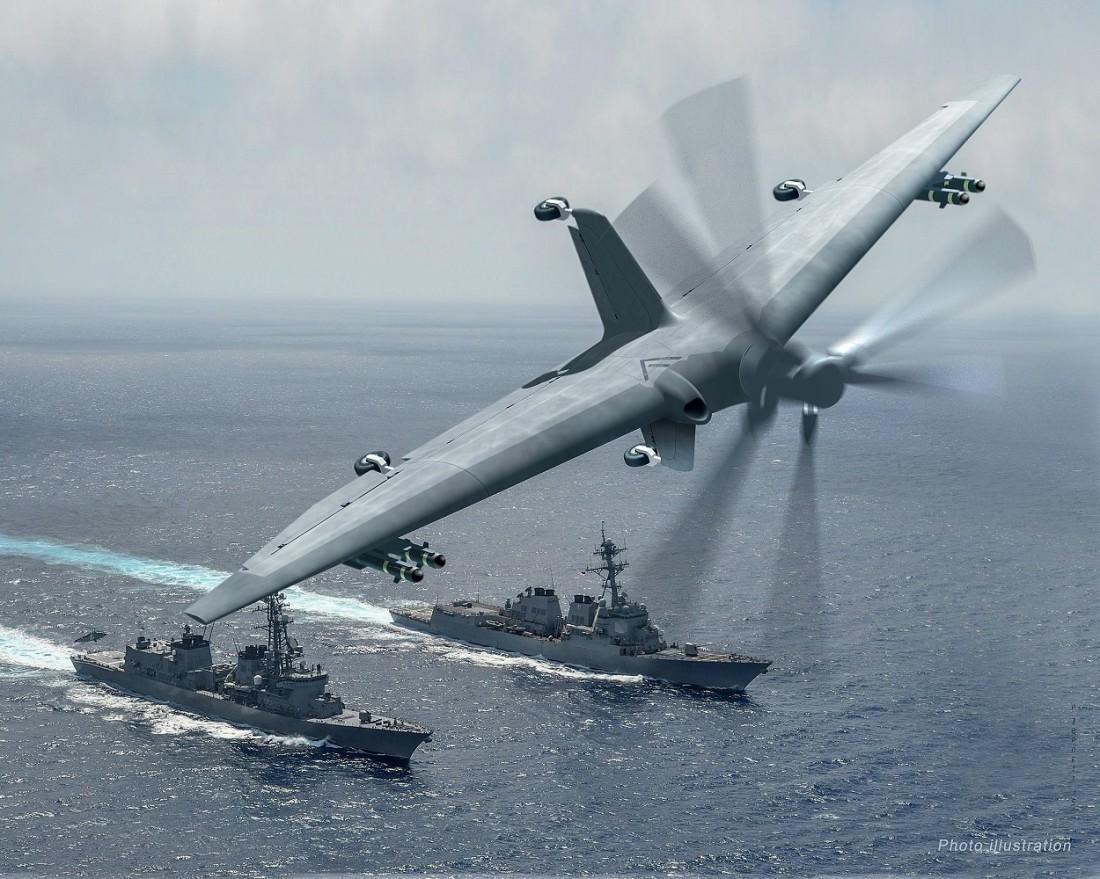 БПЛА Tern. Ожидаемая дальность полета — 1600 км