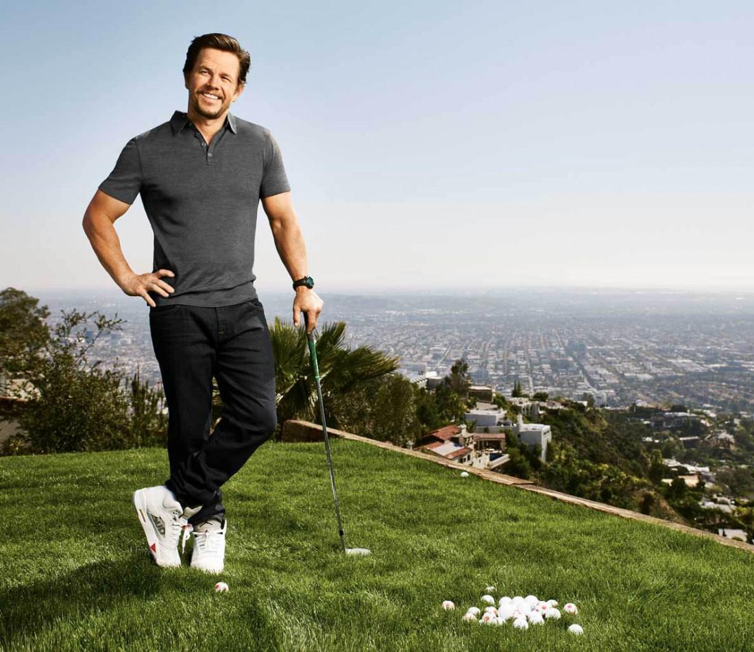 Марк Уолберг любит гольф и играет в него каждое утро субботы