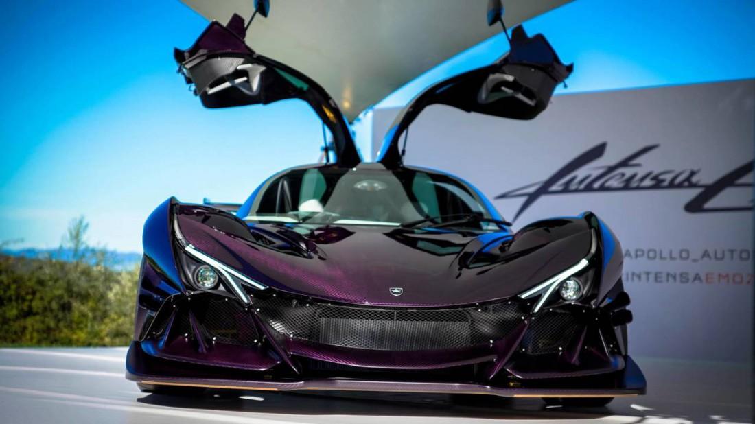 Apollo Intensa Emozione. Чисто трековый спорткар, с ценником $2,7 млн