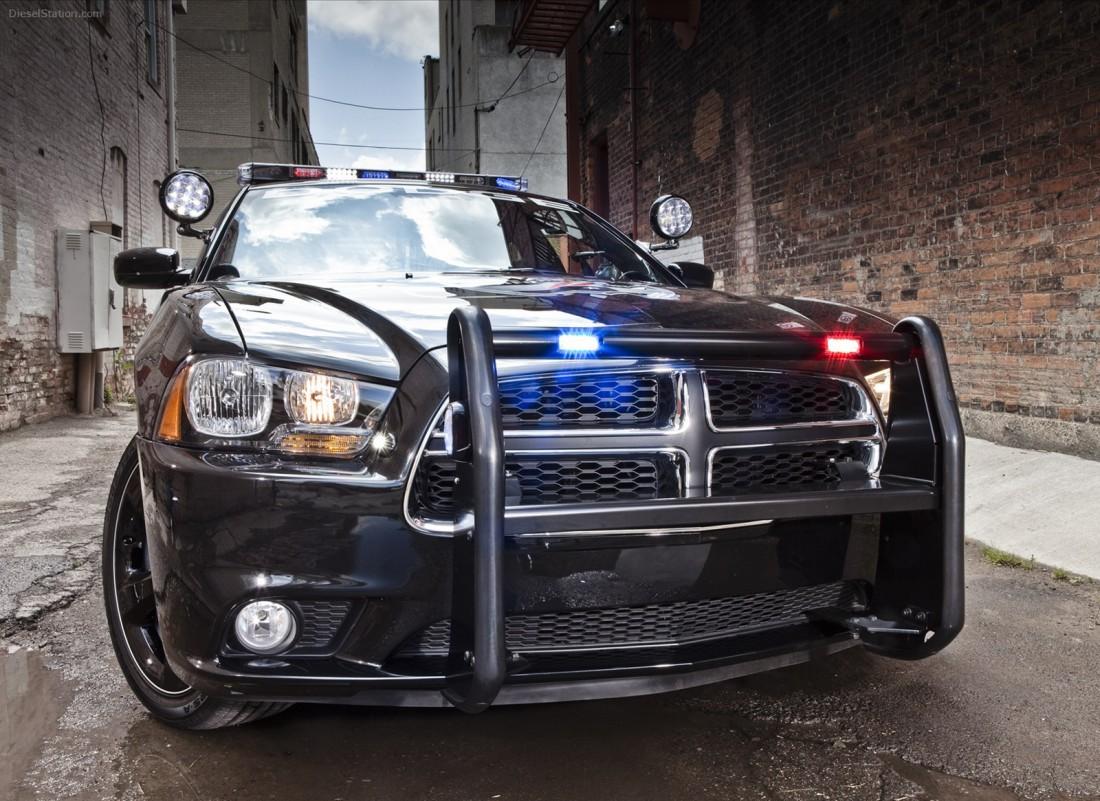 Dodge Charger. Один из лучших полицейских автомобилей в Мичигане