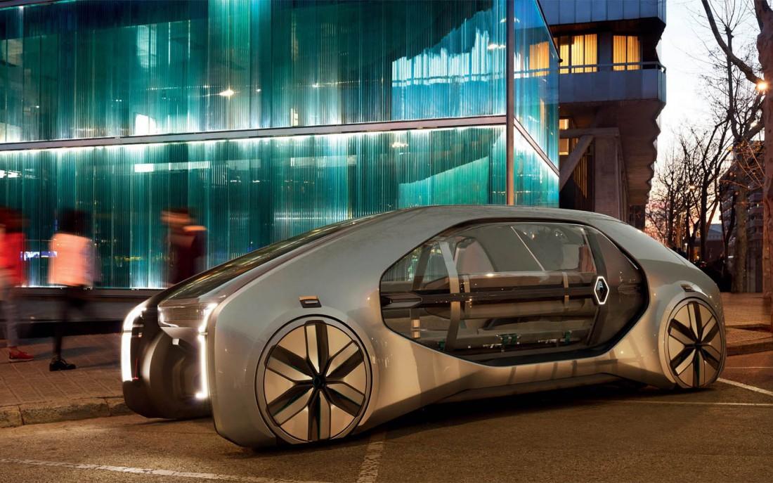 Renault EZ-GO — электрокар-беспилотник общественного пользования