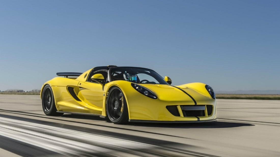 Hennessey Venom GT Spyder — новый самый быстрый автомобиль в мире