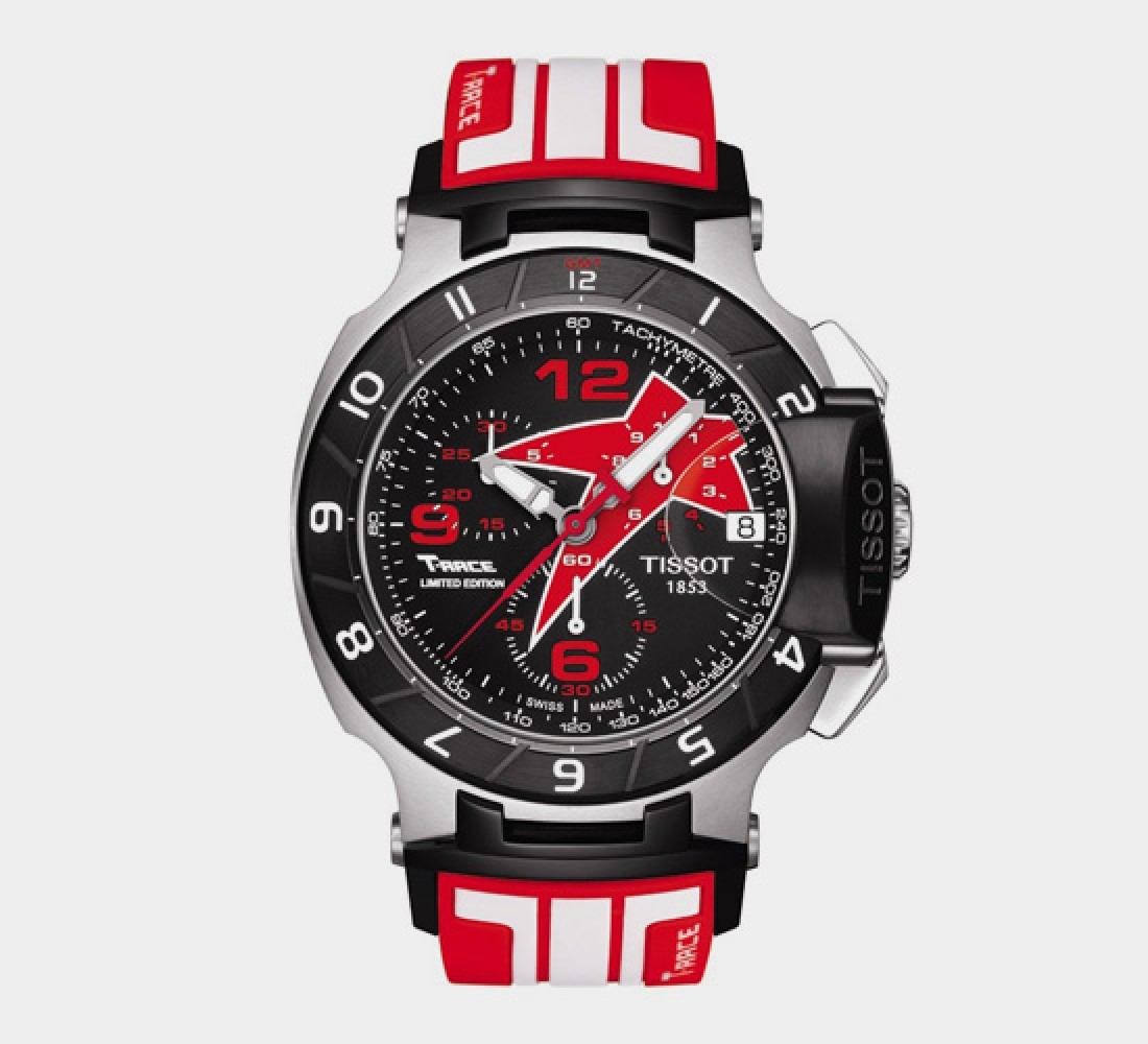 Tissot Nicky Hayden 2012 Limited T-Race Men's Black Quartz