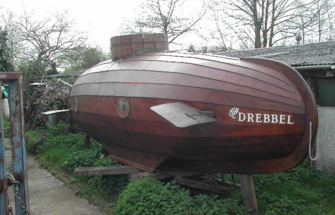 Первая подводная лодка Дреббеля