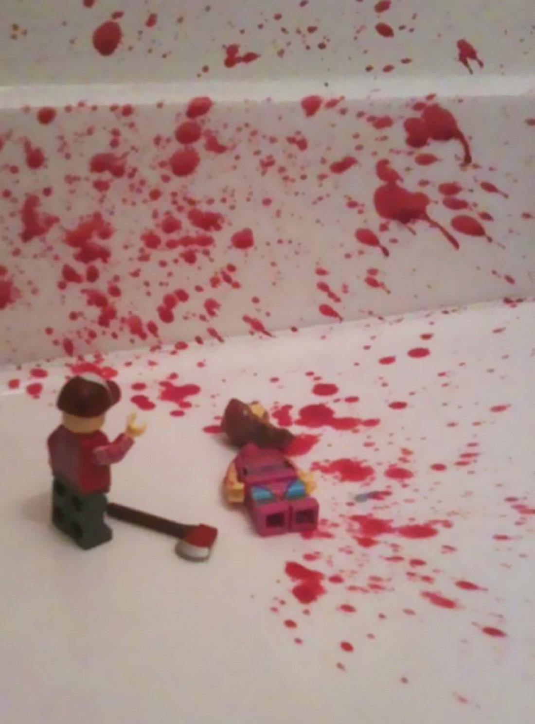Кровавые разборки Лего