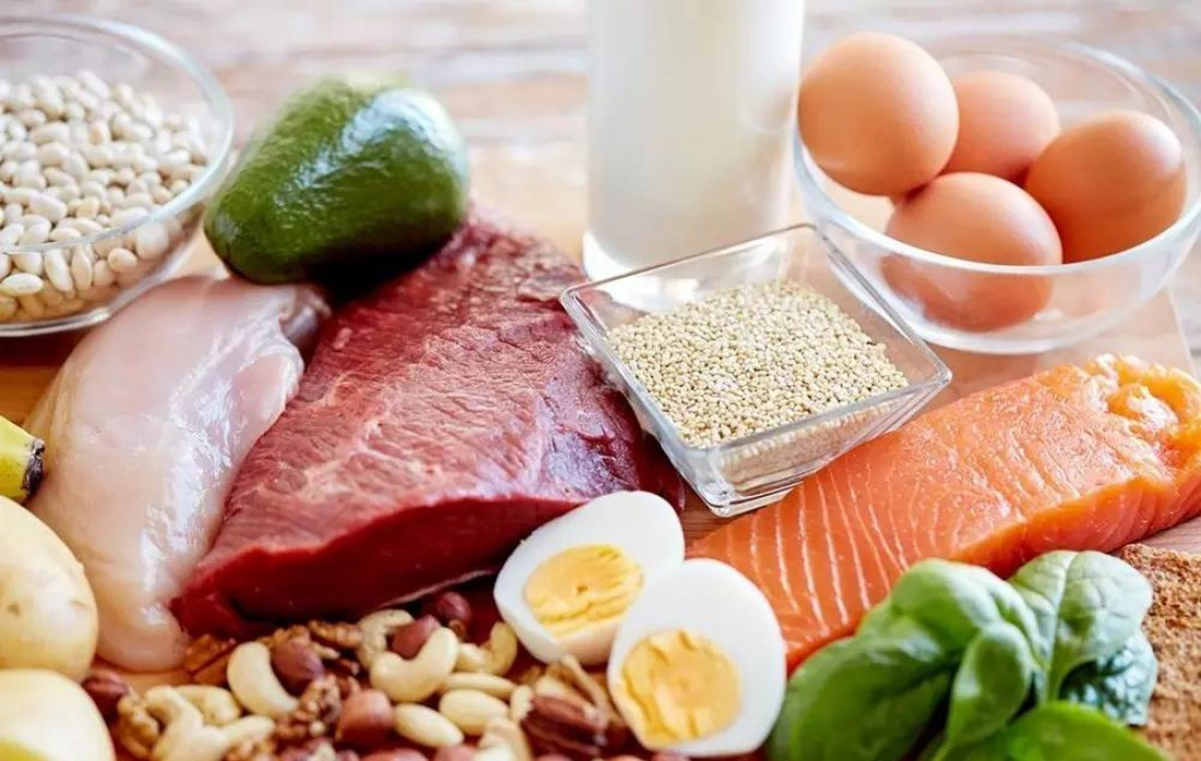 Лопай говядину, лосось яйца и бобы — у будет у тебя прирост в массе