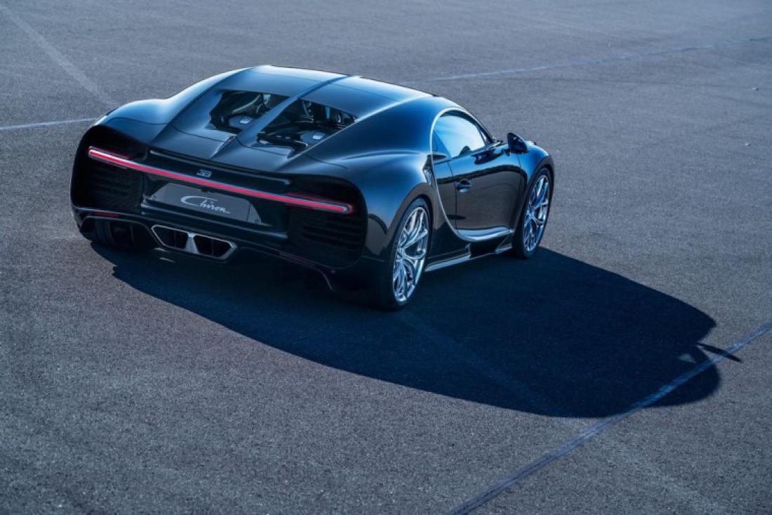 Французы планируют построить всего 500 единиц Bugatti Chiron
