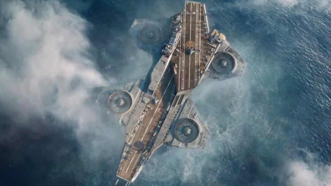 Авианосец, способный подниматься в воздух. Секретный проект Пентагона