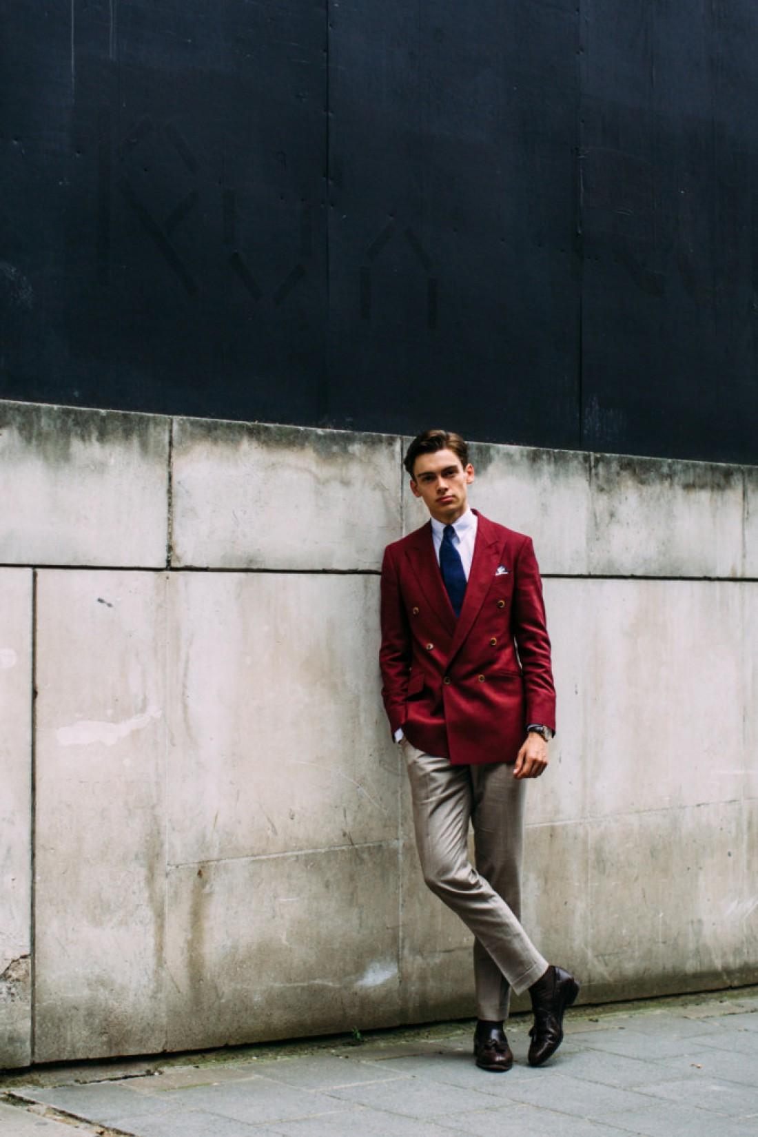 Лондонская неделя моды 2018. Один из самых сдержанно-стильных экспонатов