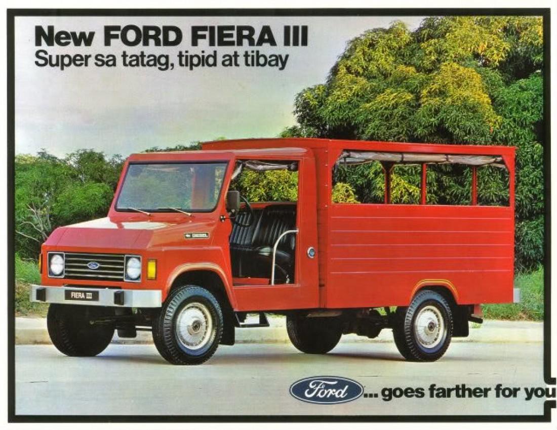 А что тебе напоминает Ford Fiera?