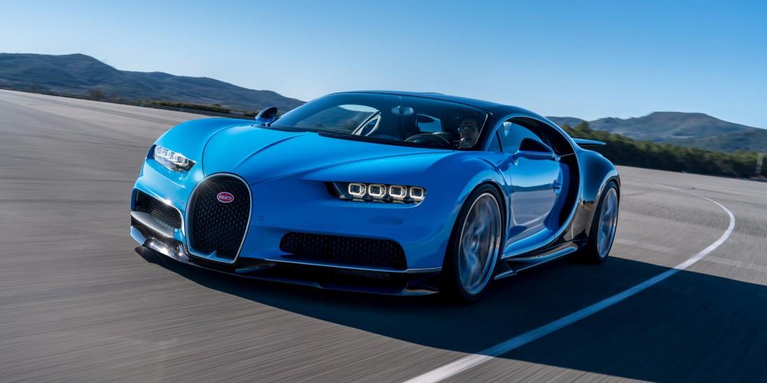 Bugatti Chiron. Одна из самых ожидаемых машин будущего