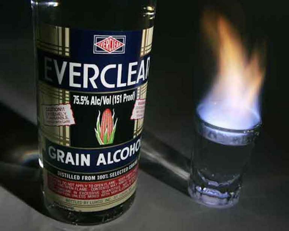 Ликер Everclear в 1979-м признан самым крепким спиртным в мире