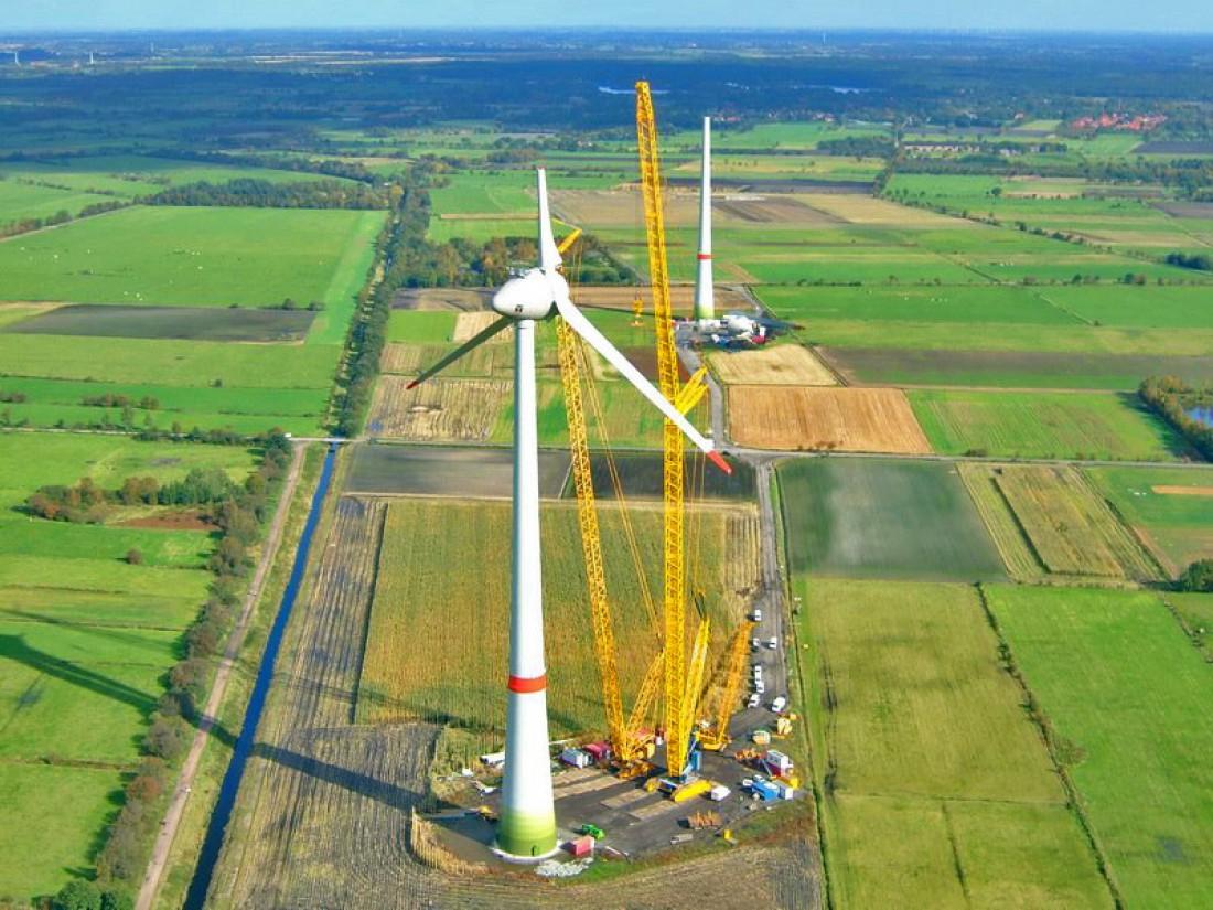 Суперсооружение: ветрогенератор Enercon E-126