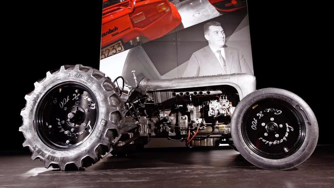 Тираж тракторов Lamborghini Centenario — всего пять единиц