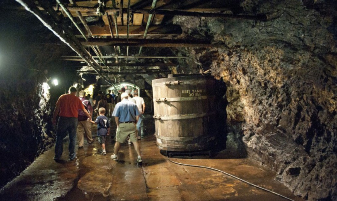 Катакомбы Pottsville — самой старой пивоварни на планете