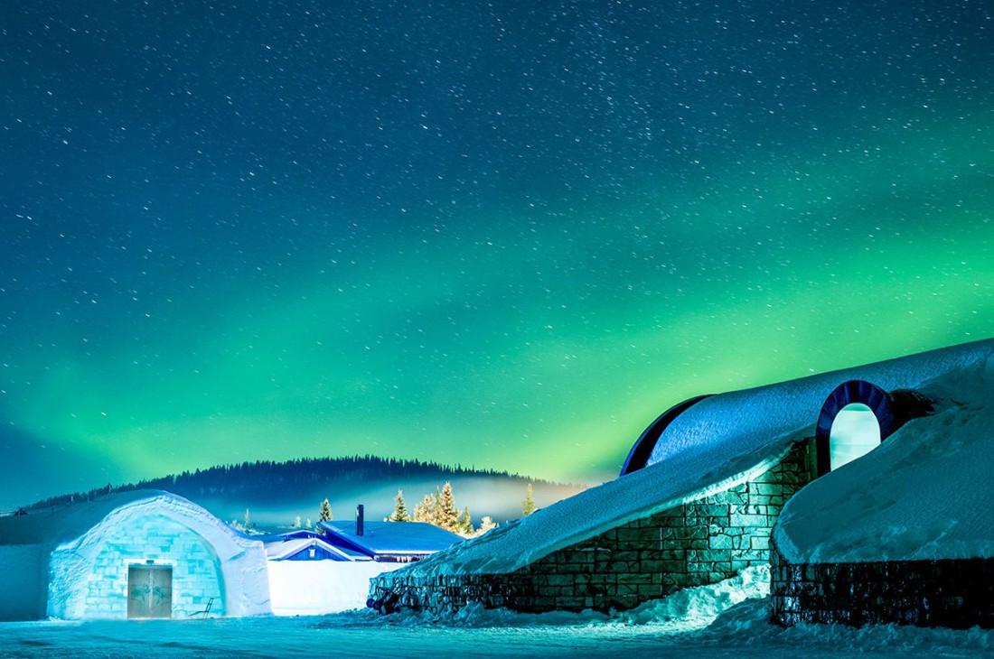 IceHotel, Швеция. Один из самых живописных