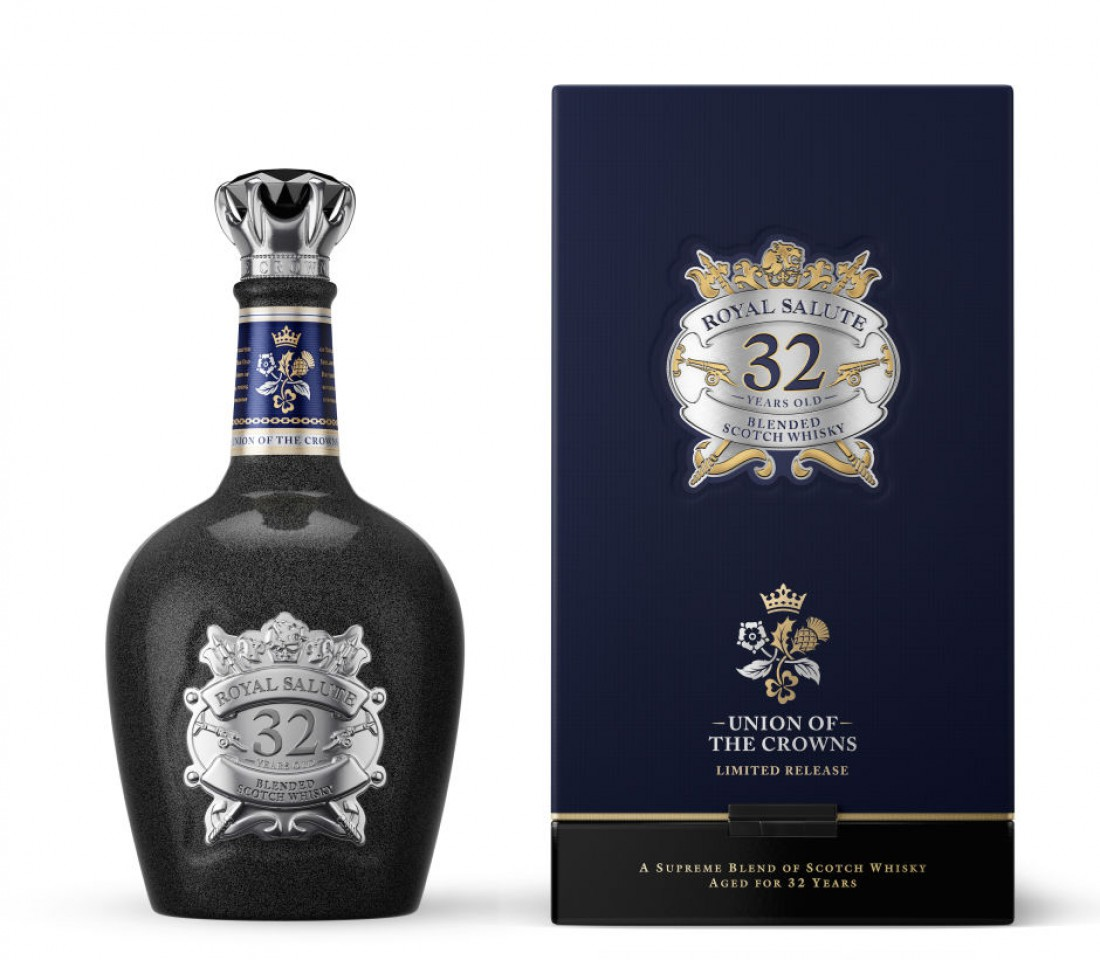 Royal Salute 32 Year Old 'Union of the Crowns' — $380