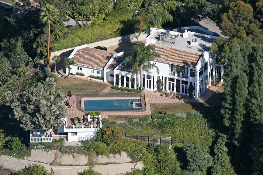 Дом, в котором обитает Илон Маск