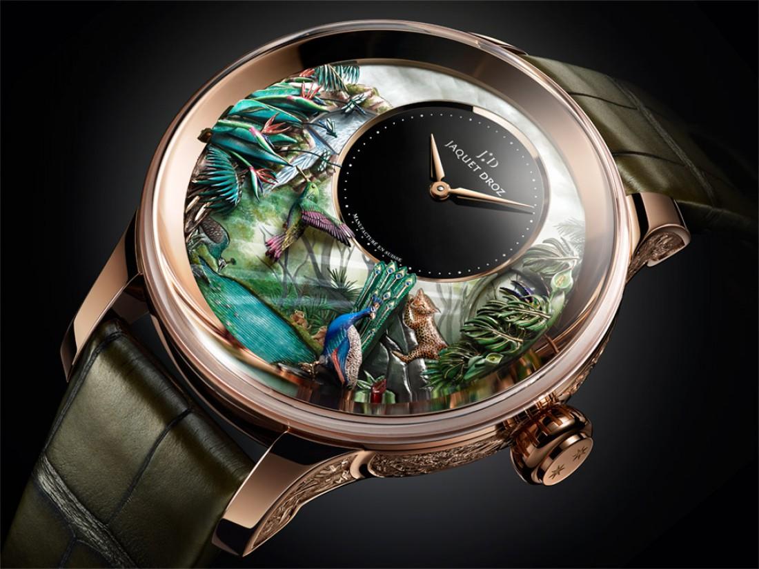 Tropical Bird Repeater. Уникальные часы для фанатов дикой природы
