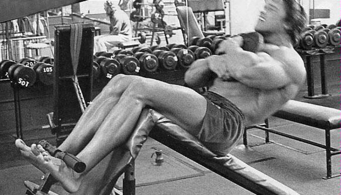Не стесняйся утяжелять упражнение дополнительным весом