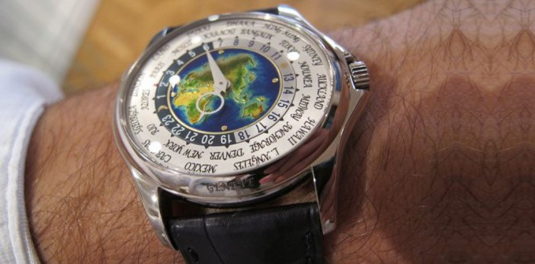 Patek Philippe Platinum World Time = $4 милн