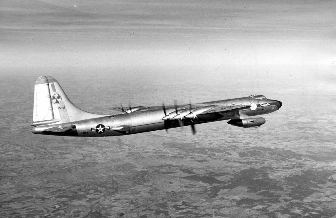 Ядерный Convair B-36. Как-то из него выпала термоядерная бомба