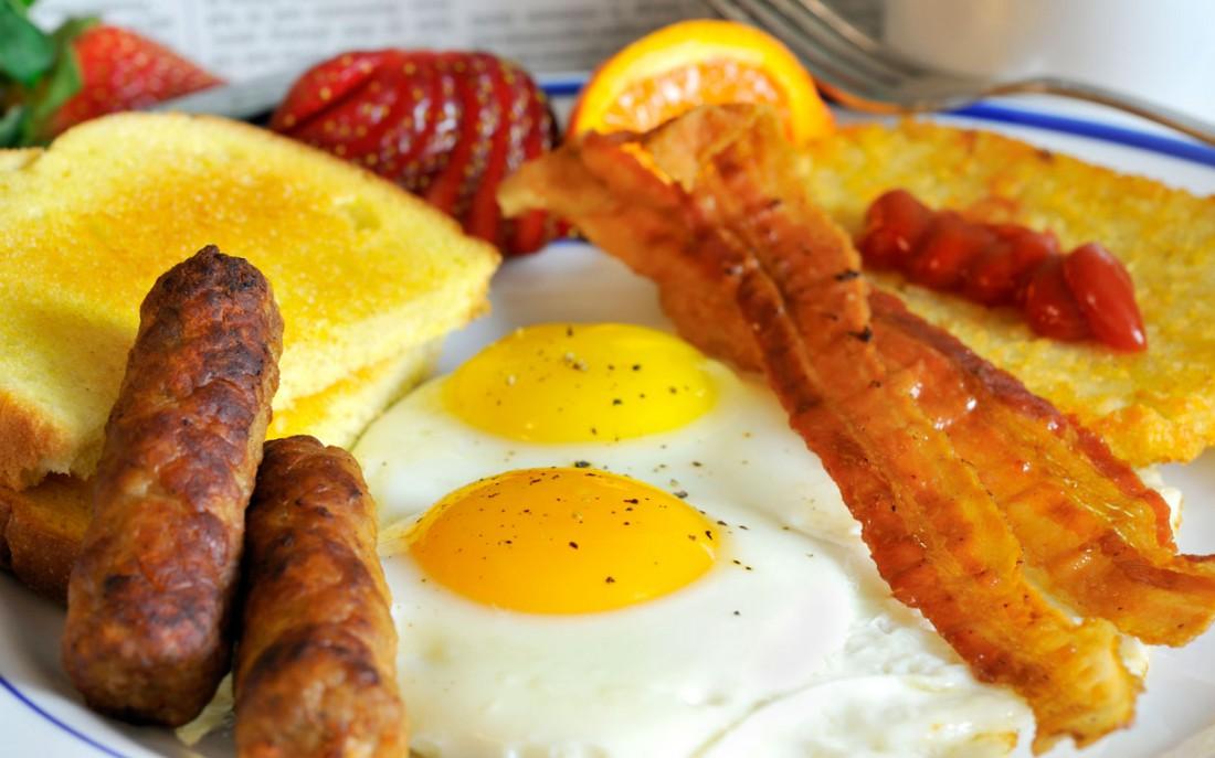 А как выглядит твой здоровый завтрак?