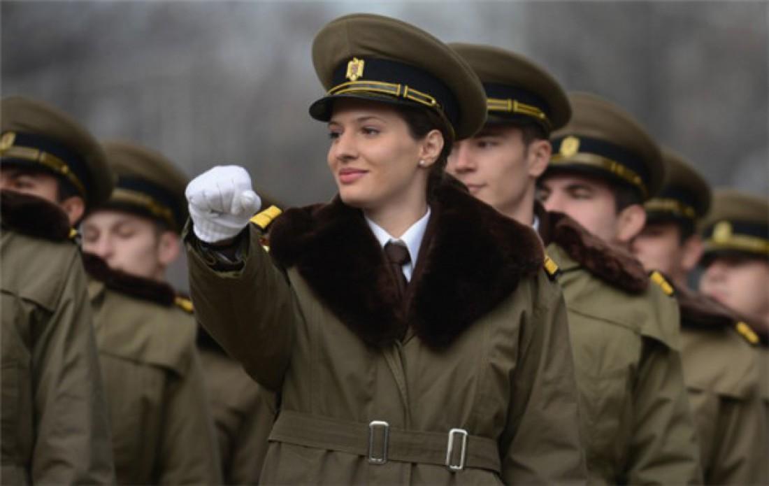 Румынские солдатки побывали в Ираке и