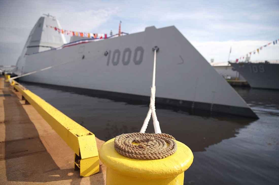 Эскадренный миноносец USS Zumwalt
