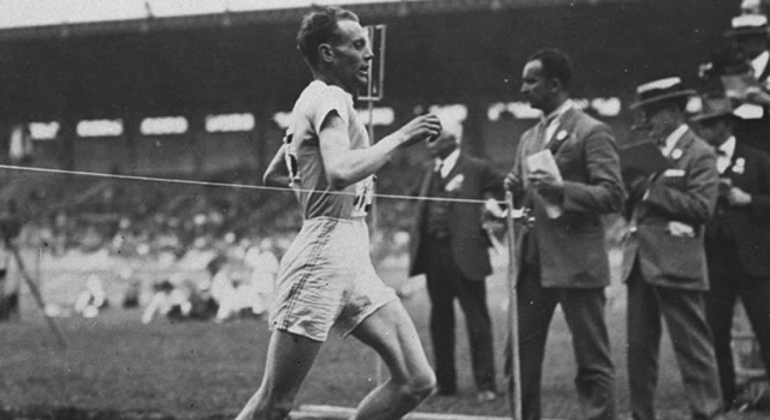 Девятикратный олимпийский чемпион Пааво Нурми