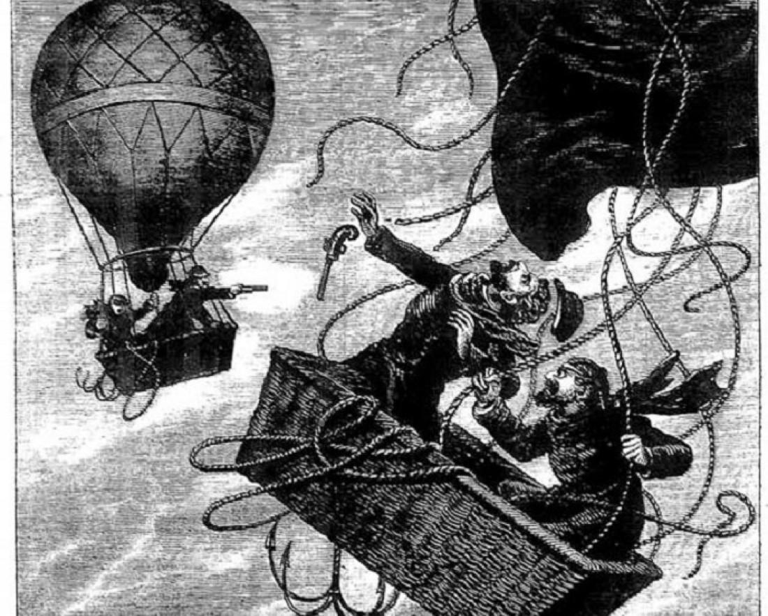 На воздушном шаре можно умереть не только от вражеской пули