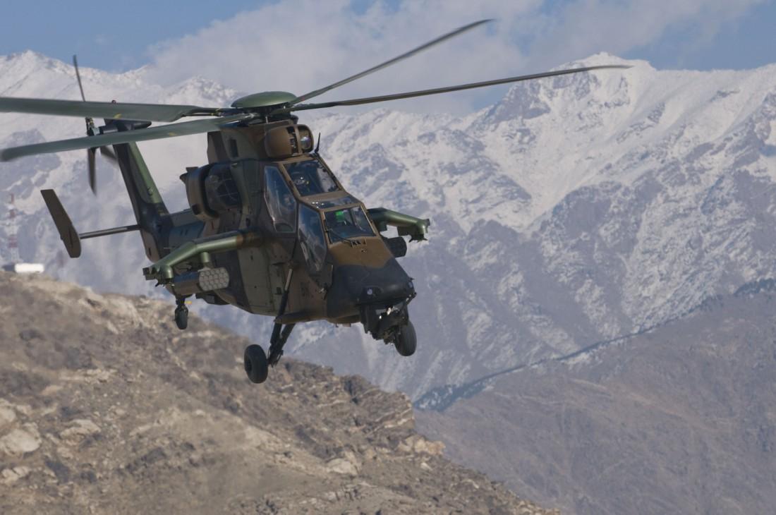 Скрытный и живучий Eurocopter Tiger